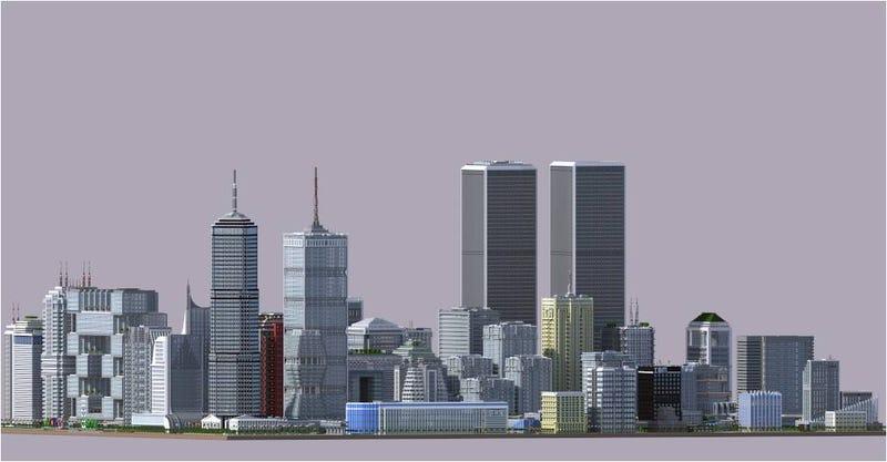 Esta increíble ciudad está construida en Minecraft para Xbox 360 y PC