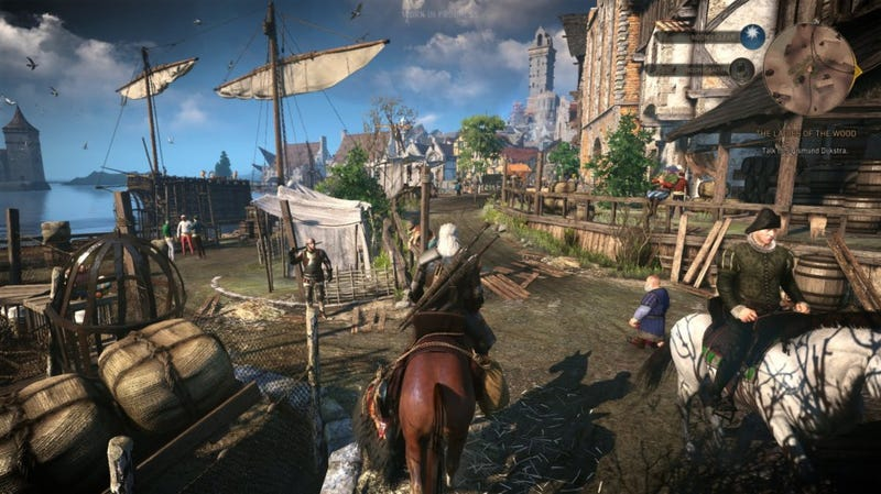 Illustration for article titled Witcher 3 Development Is Over, But One Of Its Designers Is Still Making Mods