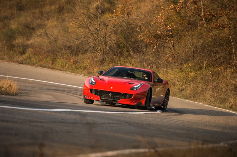 Illustration for article titled The Ferrari F12tdf Is 770 Horsepower of Ridiculousness