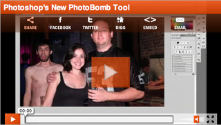 Illustration for article titled Photoshop PhotoBomb Tool, For Hilariously Creepy Memories