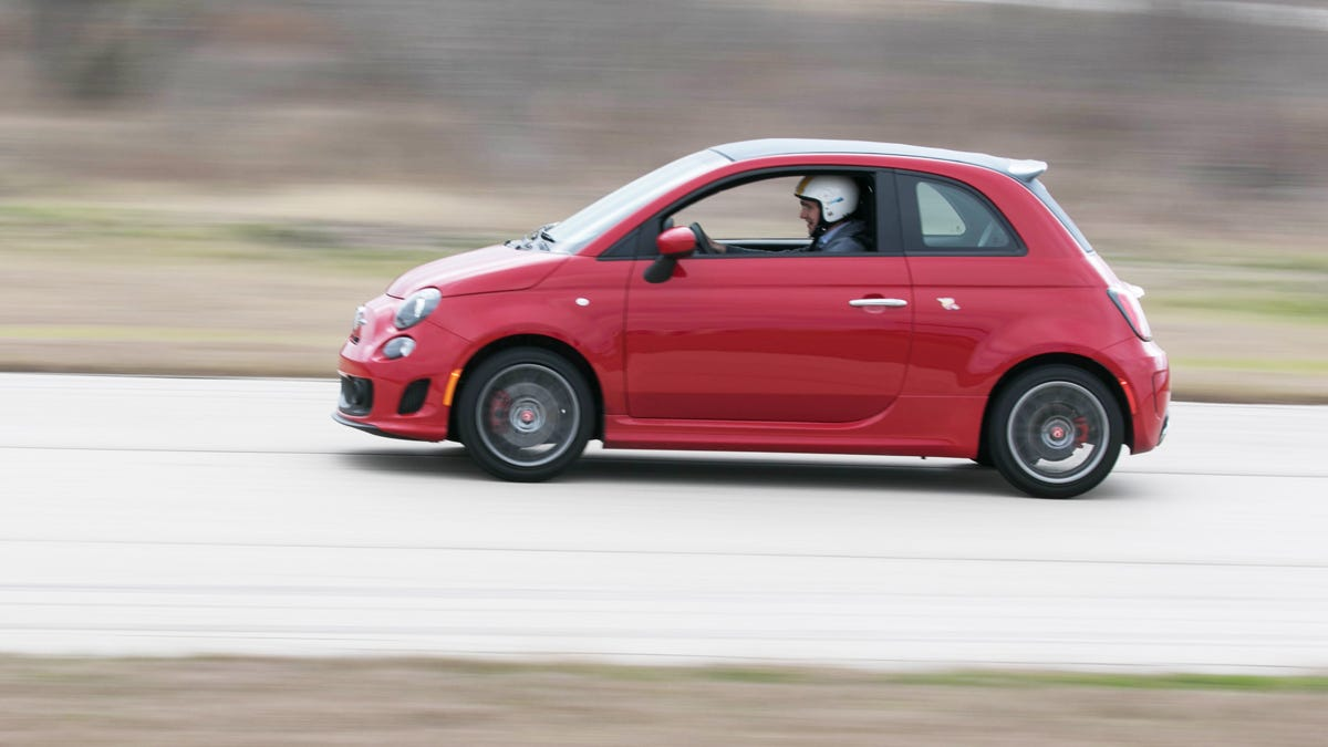 the fiat 500 abarth just isn't as stupid fun with an automatic