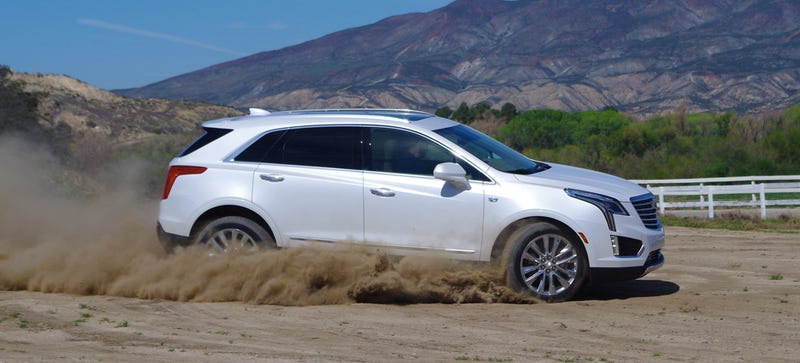 Illustration for article titled 2017 Cadillac XT5: Meet The Escalade's Kid Sister With Better Grades And Glasses