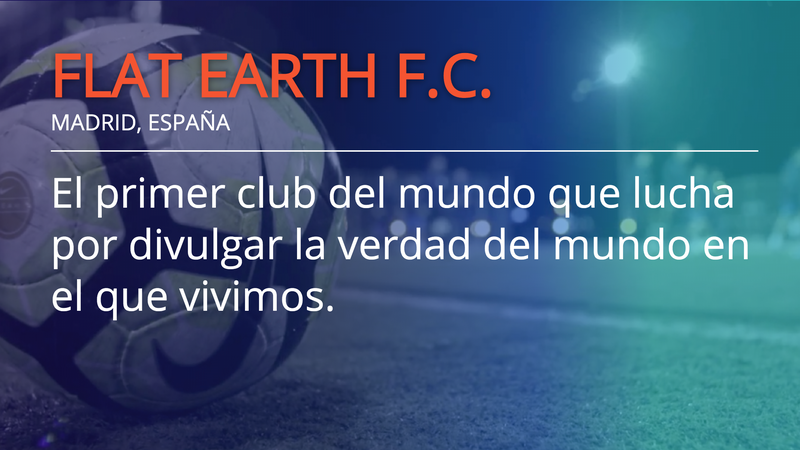 Illustration for article titled Recently Promoted Spanish Soccer Club Renamed As Flat Earth FC