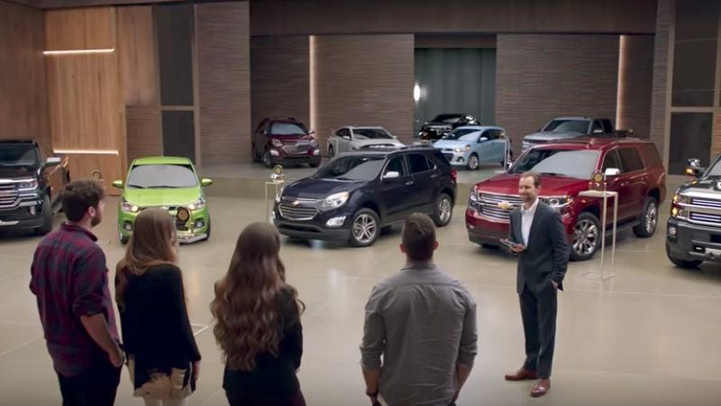 "Screenshot: Chevrolet TV Spot, ""More Awards"""
