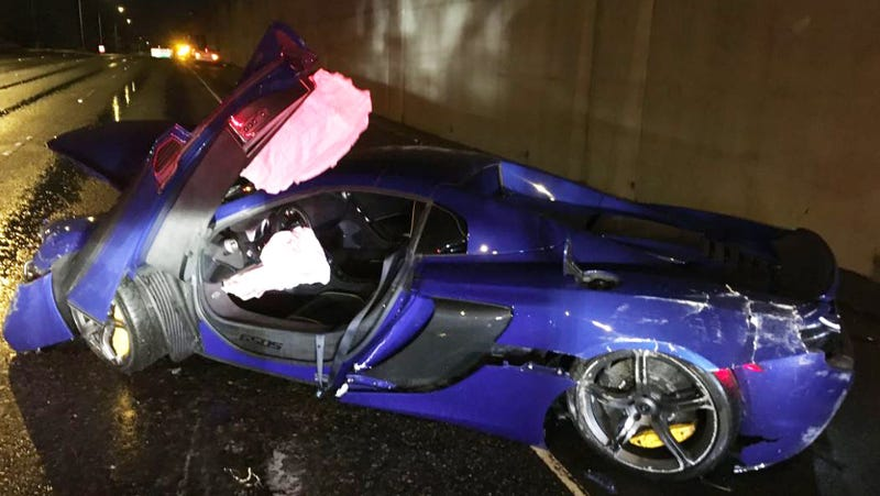 Illustration for article titled This McLaren 650S Wreck Wasn't That Terrible All Things Considered