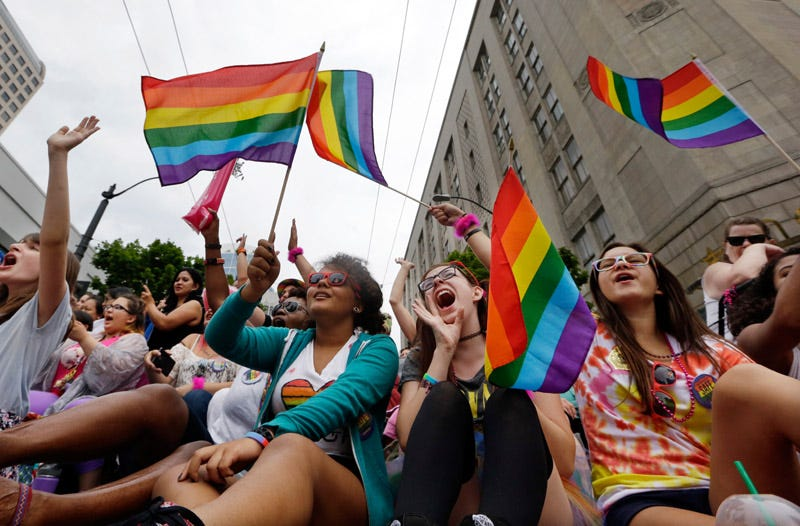 Seattle's 41st Annual Pride Parade. Photo: AP