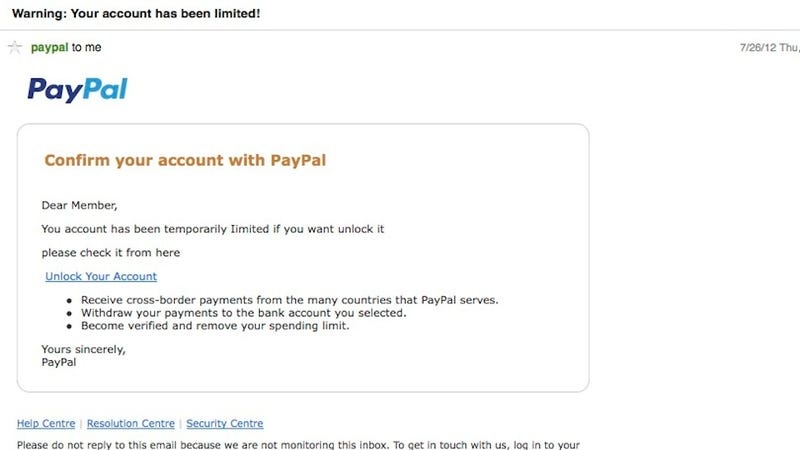 Email Spoofing Example How To Access Blocked ...