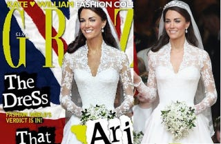 Illustration for article titled Kate Middleton's Tiny Waist Gets Slimmed Down Some More