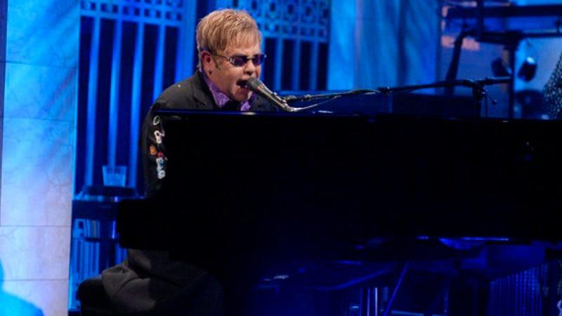 "Illustration for article titled Saturday Night Live: ""Elton John/Leon Russell"""