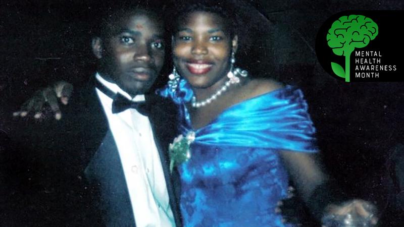 Michael and Robin, circa 1992