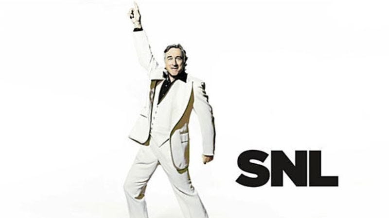 """Illustration for article titled Saturday Night Live: """"Robert De Niro/Diddy-Dirty Money"""""""
