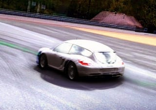 Illustration for article titled Cayman Shooting Brake Confirmed In Forza 3 Screen Shot?