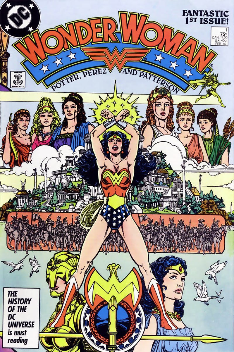 Illustration for article titled Who Does Wonder Woman Belong To?