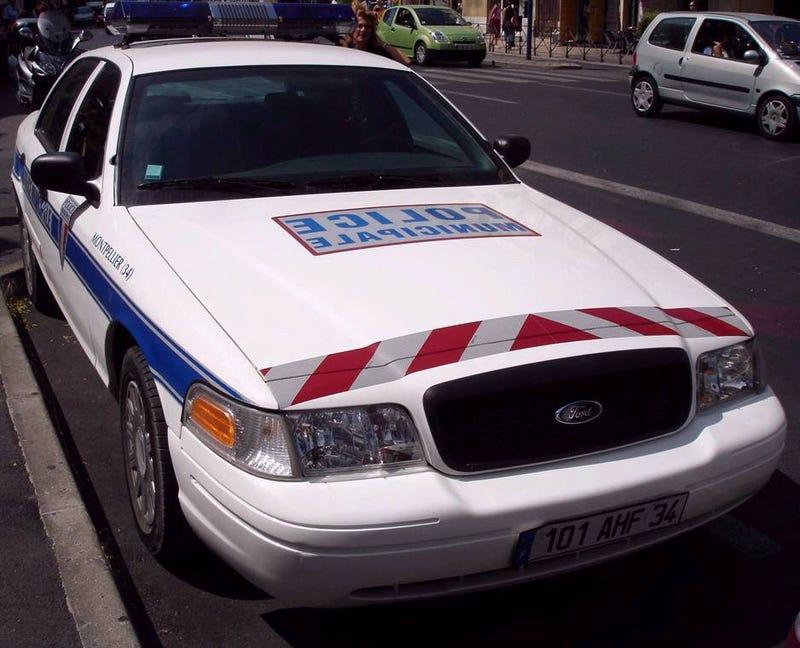 Illustration for article titled CVPI's Patrolling in France?