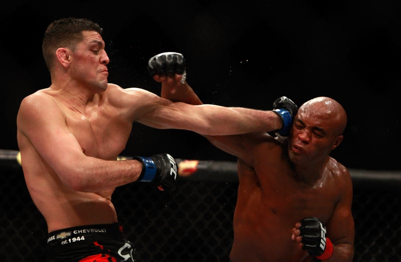 Illustration for article titled Anderson Silva And Nick Diaz Both Flunk Drug Tests