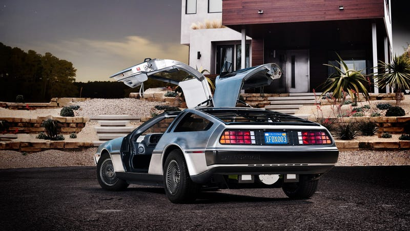 Illustration for article titled This is a brand-new, all-electric DeLorean