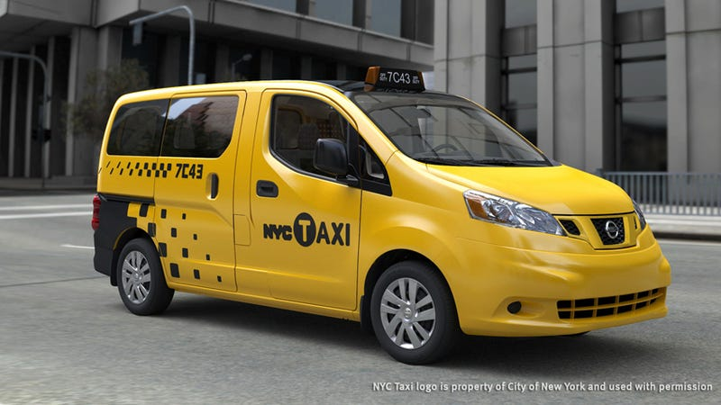 """Illustration for article titled The """"Taxi of Tomorrow"""" Is Finally the Official Cab for New York City"""