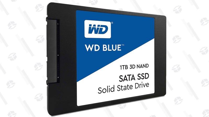 SSD WD Blue de 1TB   $140   AmazonGráfico: Shep McAllister