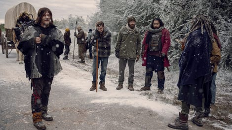 Walking Dead season finale review: Hard choices in a snowstorm
