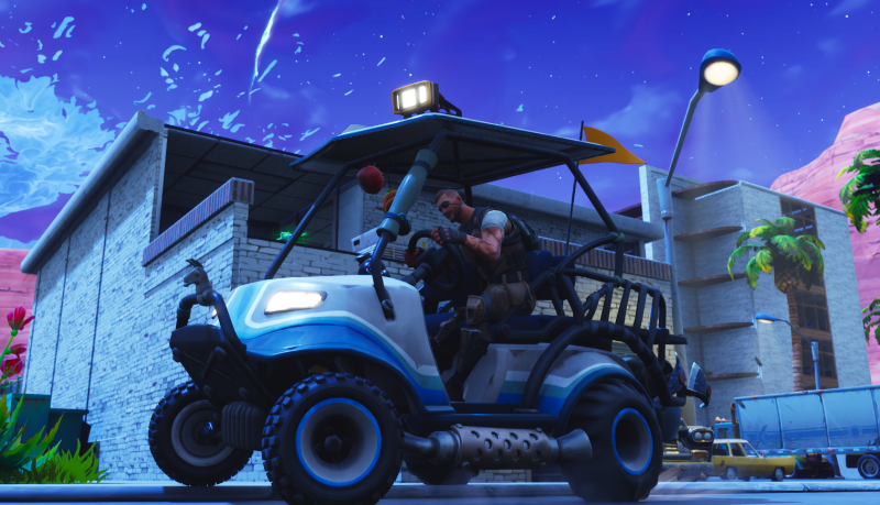 La temporada 5 de fortnite incluye coches y muchas otras for Fortnite temporada 5 sala