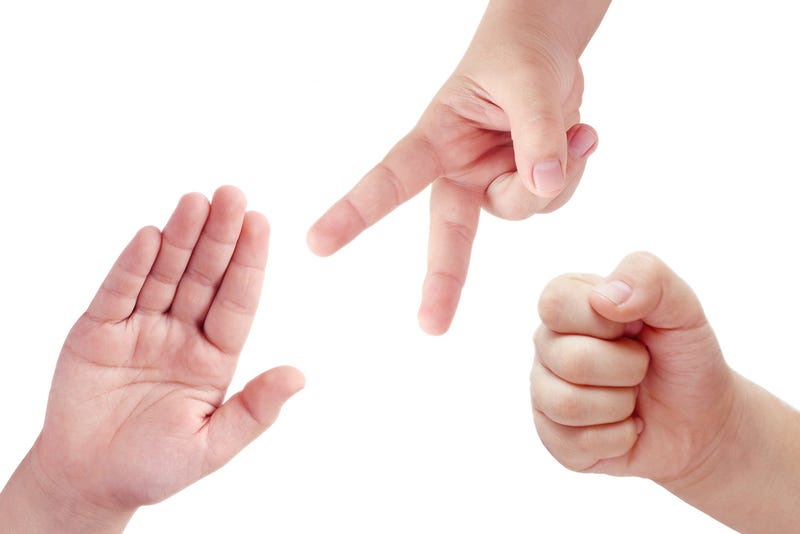 Illustration for article titled Call It a Hunch, but EA, LucasArts and BioWare Probably Aren't Making a Rock-Paper-Scissors Game