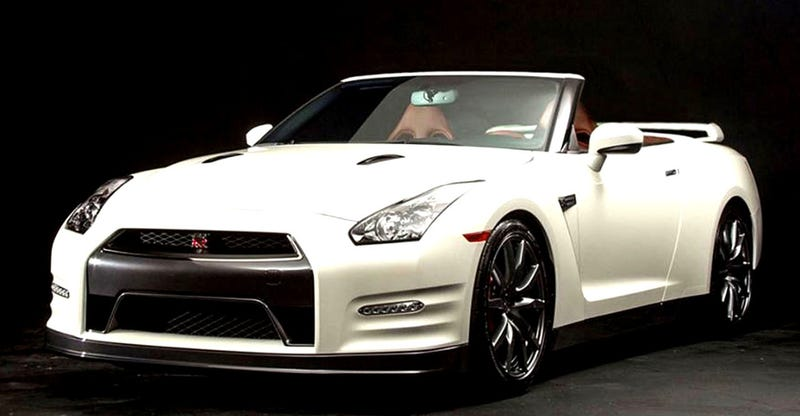 Illustration for article titled The Nissan GT-R Convertible Is Not Okay