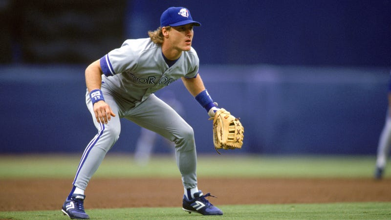 Gruber, playing for the Toronto Blue Jays, back in 1992.