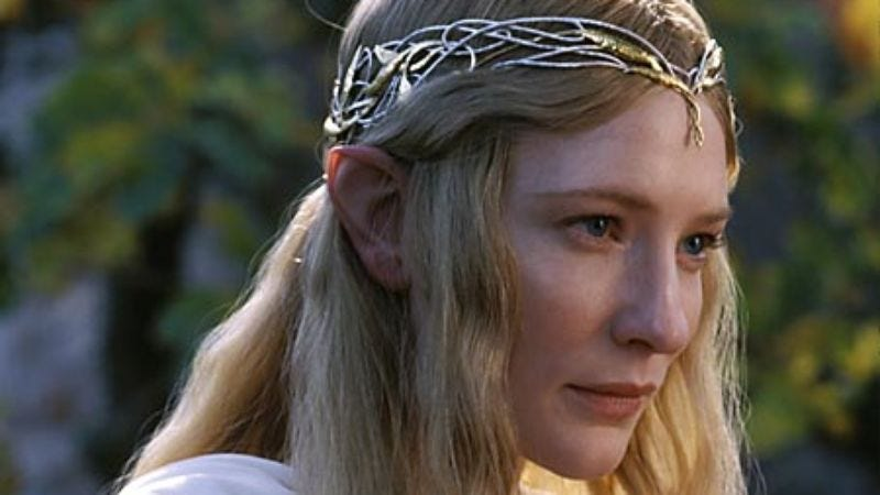Illustration for article titled Yes, Cate Blanchett will be back for The Hobbit