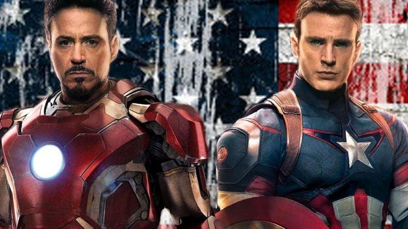 Resultado de imagen para capitan america vs iron man