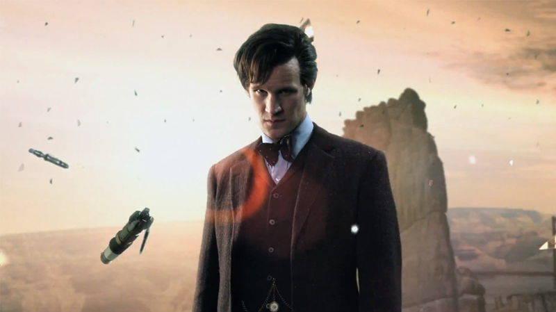 Illustration for article titled 24 things you missed from Doctor Who's 50th Anniversary trailer