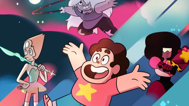 Illustration for article titled Steven Universe's frustrating schedule is crucial to its success