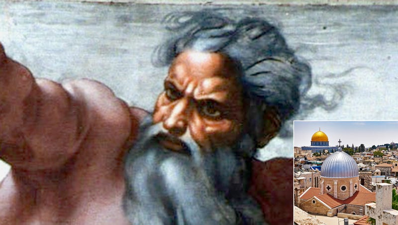 Illustration for article titled God Reveals Jerusalem Actually Only 87th Holiest Site On Earth