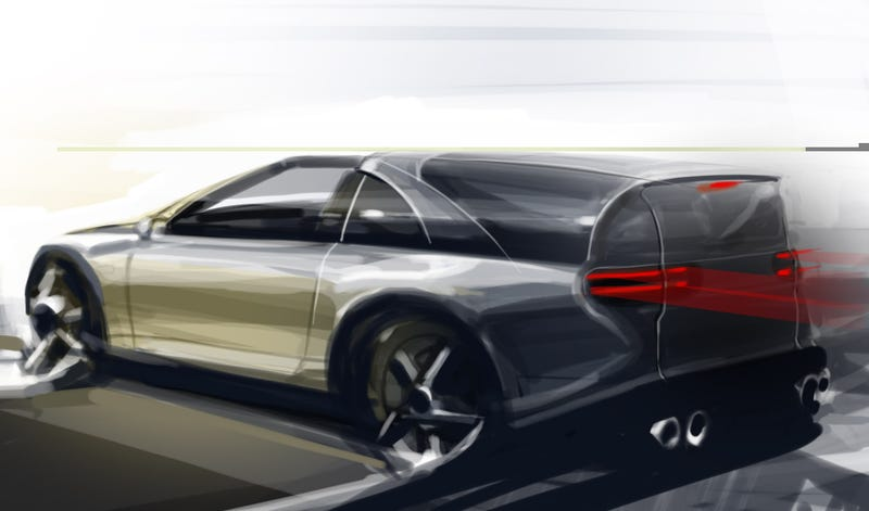 Illustration for article titled 300ZX shooting brake, finally.
