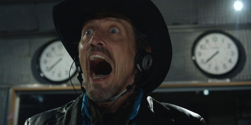 Stephen McHattie goes a little crazy in Pontypool.