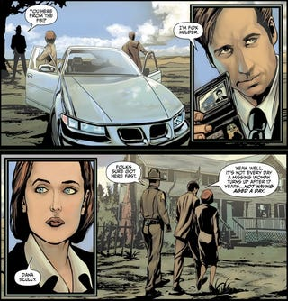 Illustration for article titled New X-Files Comic Wants To Be Television Show So Badly