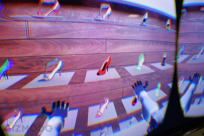 Illustration for article titled I Went Shoe-Shopping In Virtual Reality