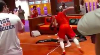 Clemson Players Cope With Syracuse Loss By Staging Locker Room
