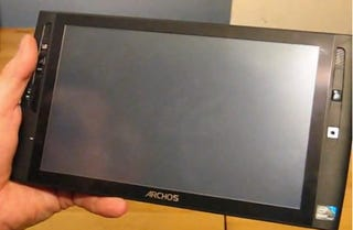 Illustration for article titled Archos 9 Unboxing Video Shows Off Windows 7 Tablet