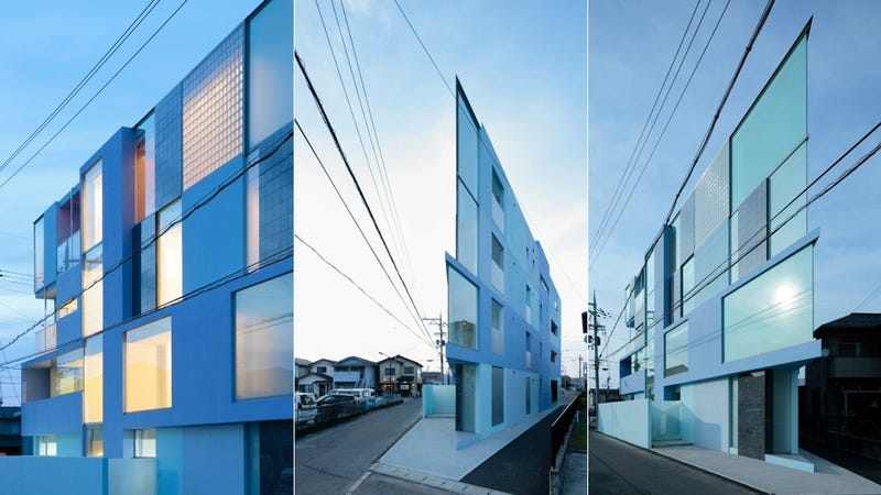 Lovely ... Apartment Building, Designed By Japanese Firm Eastern Design Office,  Had An Eating Disorder. But Really, The On The Corner House Has A Triangular  Wedge ... Amazing Pictures