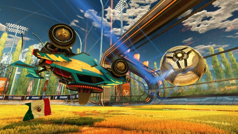 Illustration for article titled Want a Free Copy of Rocket League for PC?