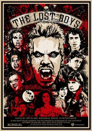 "Illustration for article titled Divorced Dating Sucks: Oedipal Rivalries in ""The Lost Boys"""
