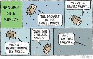 Illustration for article titled The demise of nanobots