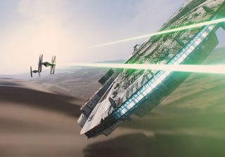 Illustration for article titled The New Star Wars Theme Park Rides Will Be Based on The Force Awakens