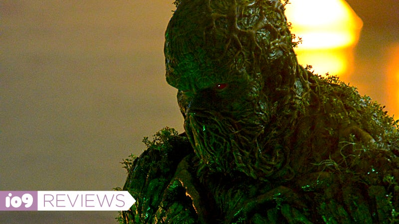 Swamp Thing is his natural element.