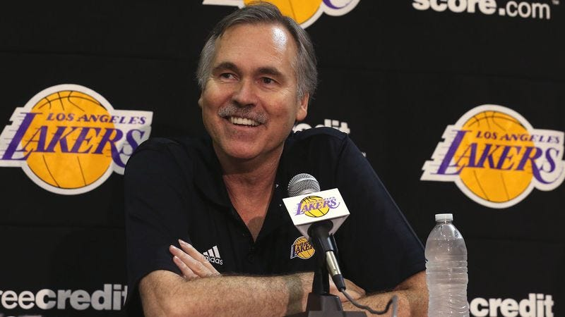 Illustration for article titled Mike D'Antoni Excited To Finally Have Chance To Coach Lakers