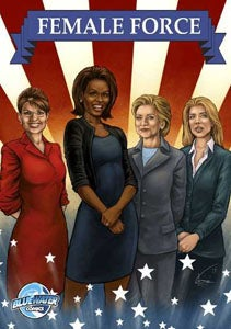 Illustration for article titled Sarah Palin And Hillary Clinton Are Comic Book Heroes