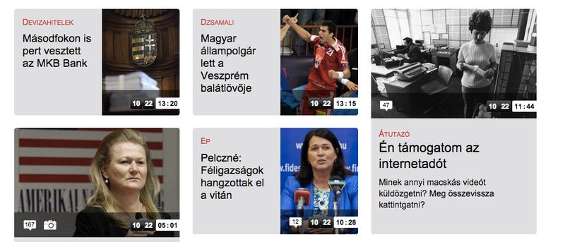 Illustration for article titled Mikor olvastál ilyet a Magyar Nemzet online címoldalán?