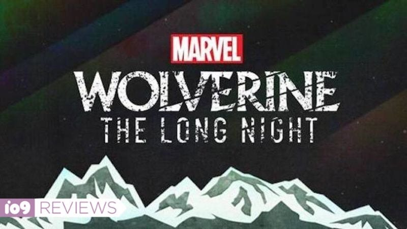 The logo for Wolverine: The Long Night.