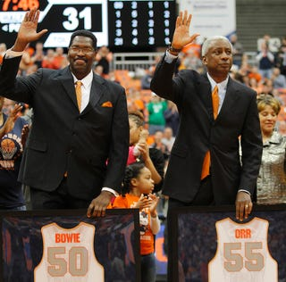 Illustration for article titled Syracuse Botches Roosevelt Bouie's Name In Jersey Retirement