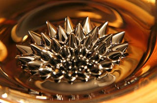 Illustration for article titled DIY Ferrofluid Is the Prettiest Mess You Could Make Today